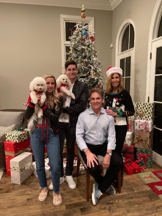 Christmas cheer with the family